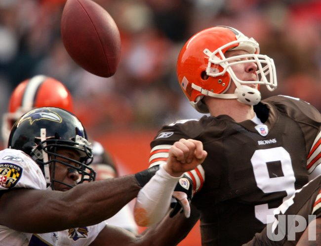 BALTIMORE RAVENS AT CLEVELAND BROWNS
