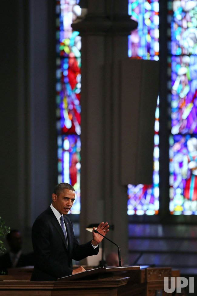 President Obama And First Lady Attend Interfaith Service For Victims Of Boston Marathon Bombings