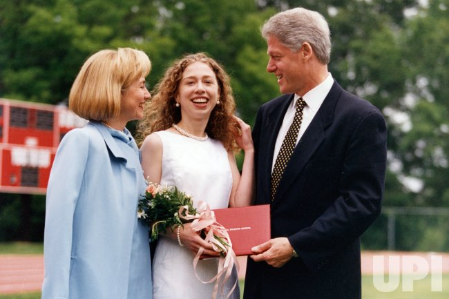 Chelsea Clinton graduates from Sidwell Friends High School