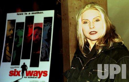 Deborah Harry at the opening of Six Ways to Sunday