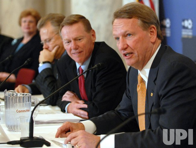 BIG THREE AUTOMAKERS ATTEND AUTO INDUSTRY SUMMIT ON CAPITOL HILL