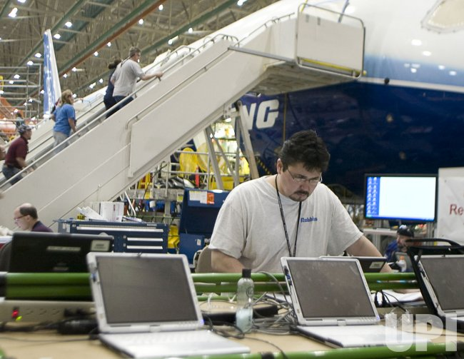 Boeing Dream Liner 787 Media Day in Everett