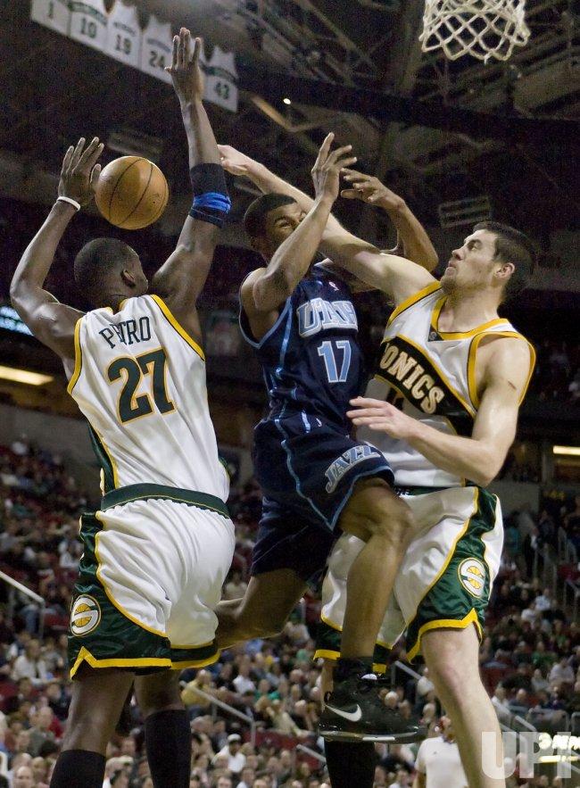 Utah Jazz vs Seattle SuperSonics