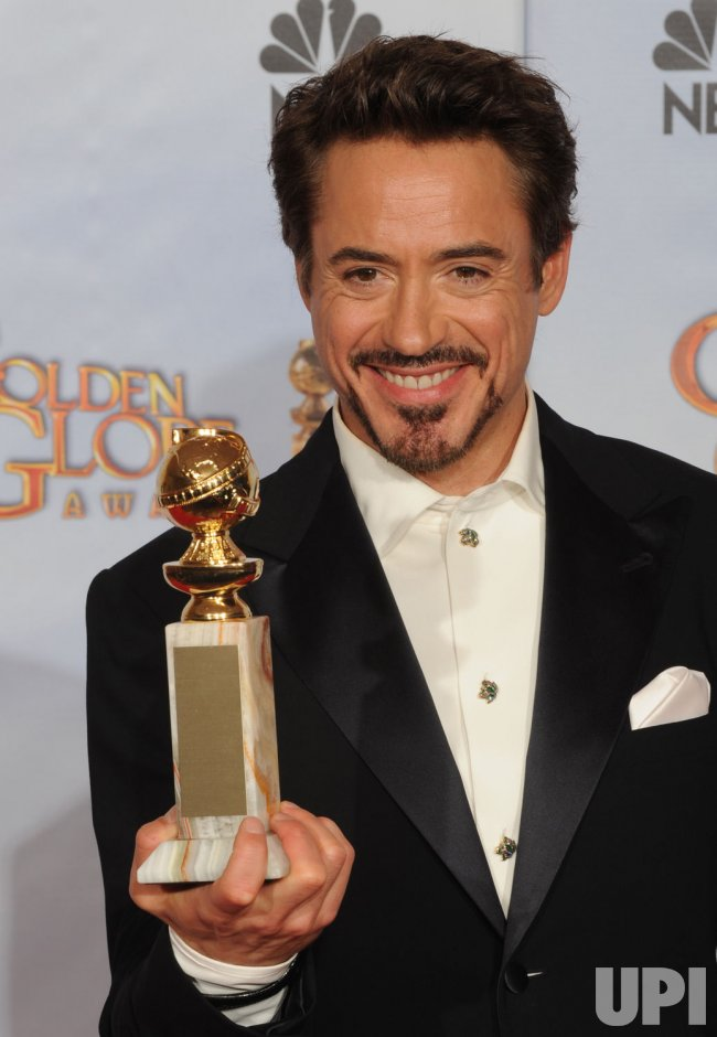 Robert Downey Jr. wins at the 67th annual Golden Globe Awards