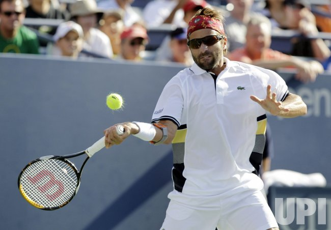 Arnaud Clement at the U.S. Open Tennis Championships in New York