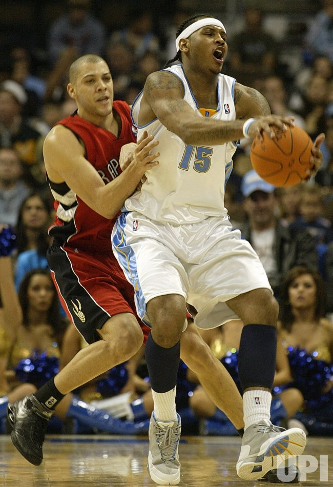 TORONTO RAPTORS VS DENVER NUGGETS