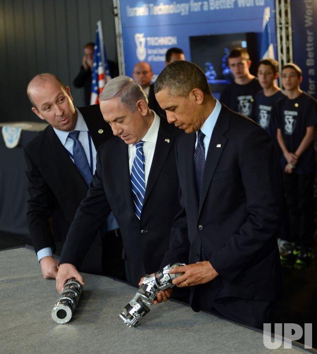 U.S. President Barack Obama At Israel Museum, Jerusalem