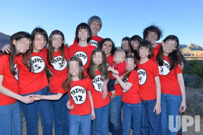 California Parents Charged with Torture, Child Endangerment of their 13 Children