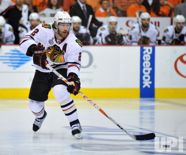 Blackhawks defenseman Duncan Keith during the 2010 Stanley Cup Final