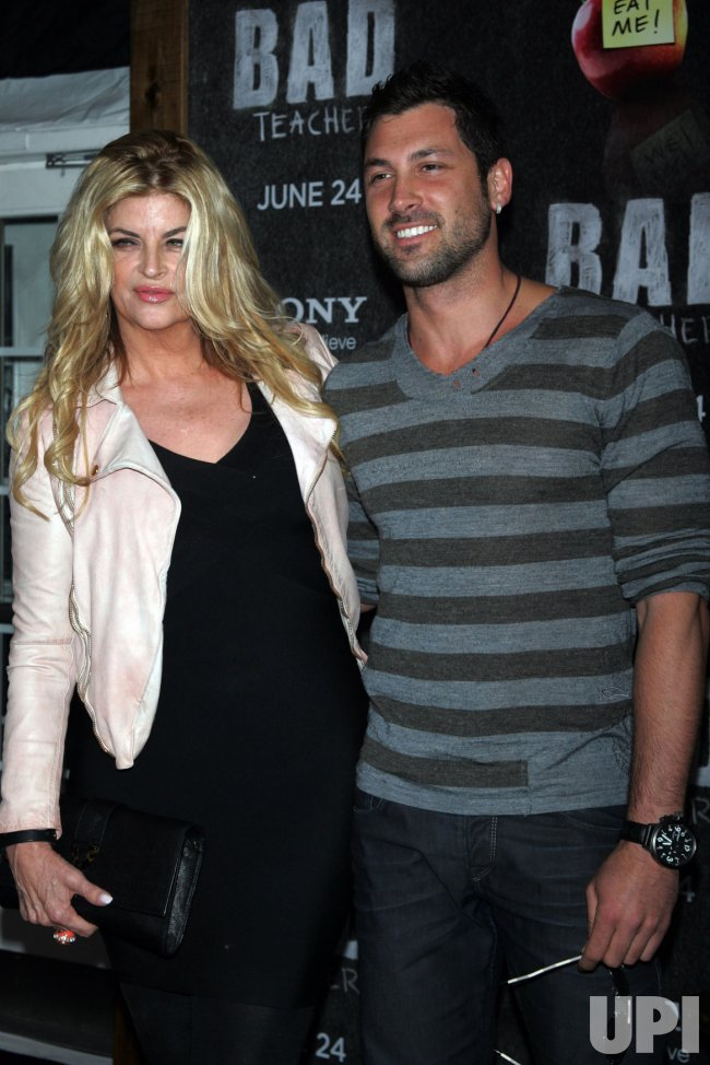 """Kirstie Alley arrives for the """"Bad Teacher"""" Premiere in New York"""