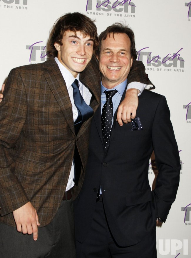 Bill Paxton and son James arrive for the Tisch Gala in New York