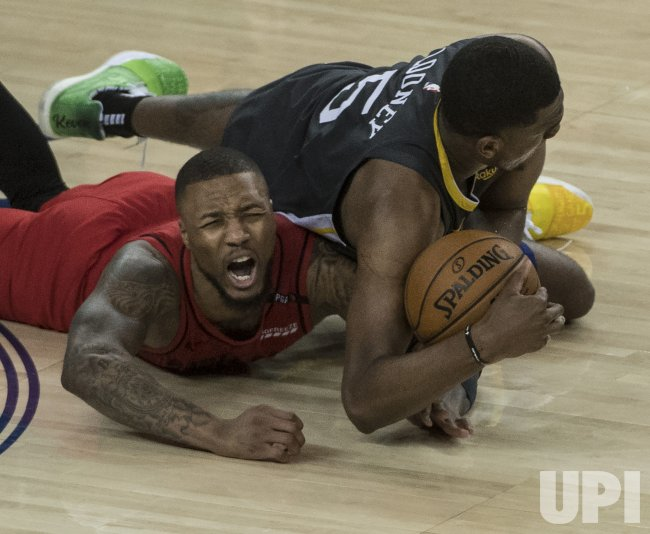 trail blazers vs warriors - photo #9