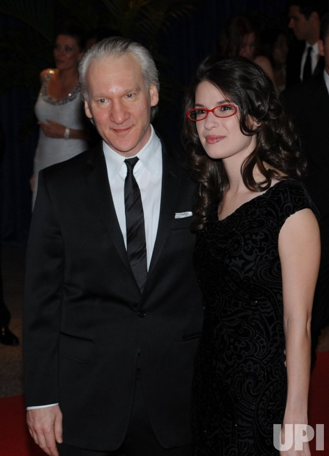 Bill Maher And Girlfriend Cara Santa Maria Arrive At The