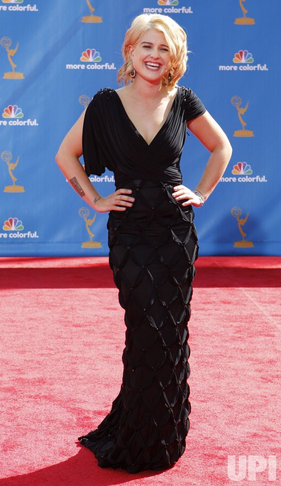 Kelly Osbourne arrives at the 62nd Primetime Emmy Awards in Los Angeles