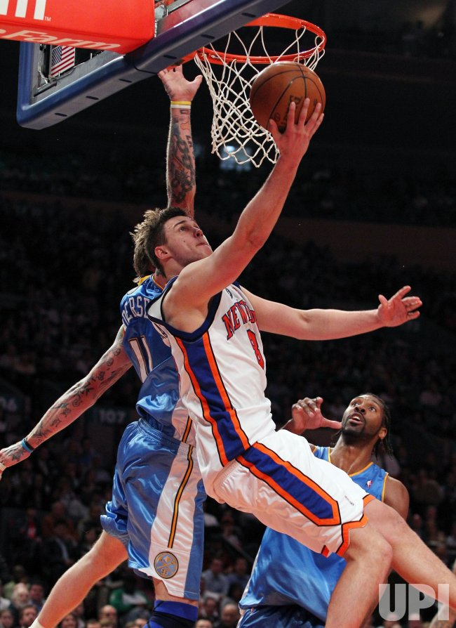 New York Knicks Danilo Gallinari at Madison Square Garden