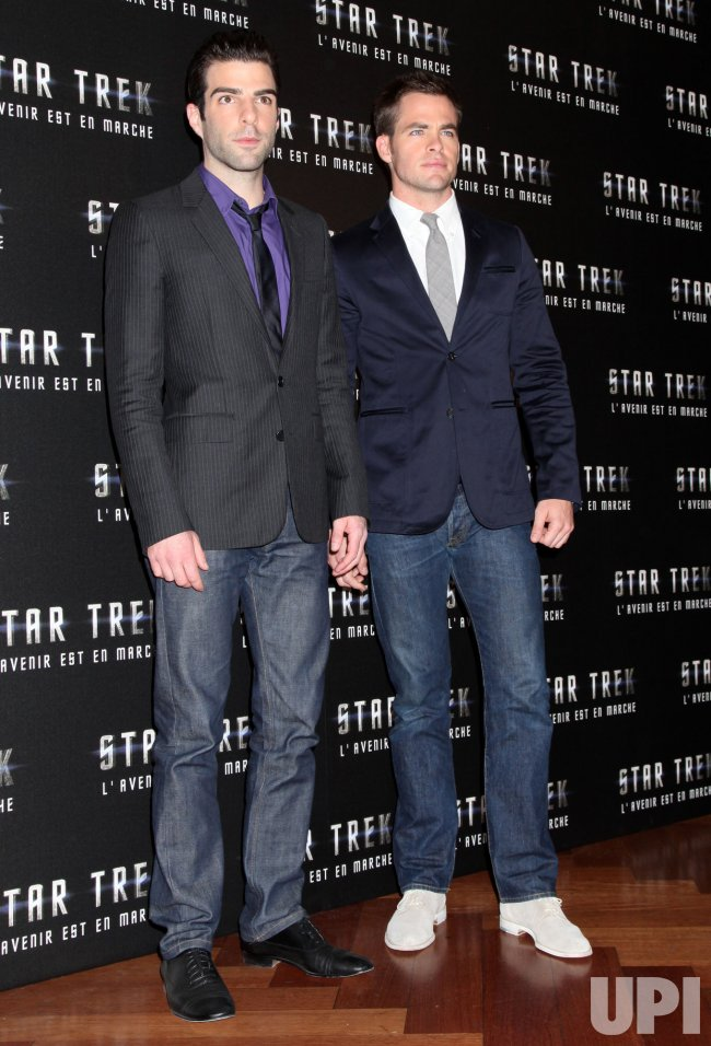 """Star Trek "" photocall in Paris"