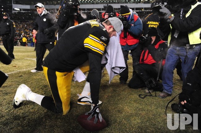 Steelers' quarterback Ben Roethlisberger in Pittsburgh
