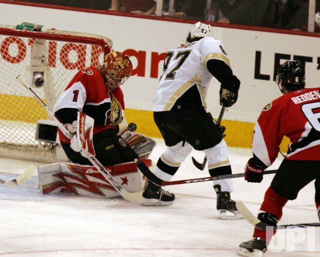 OTTAWA SENATORS VS PITTSBURGH PENGUINS EASTERN CONFERENCE QUARTERFINALS
