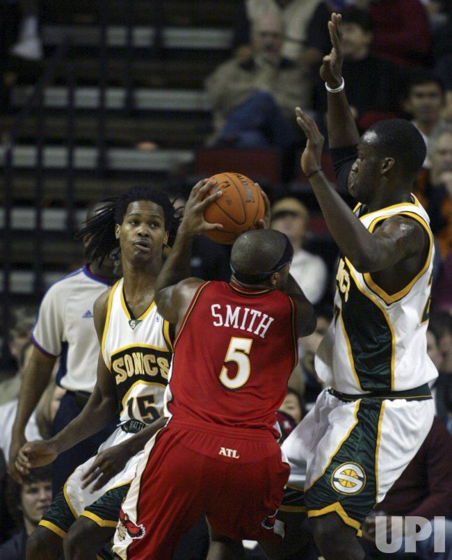 ATLANTA HAWKS VS SEATTLE SUPERSONICS
