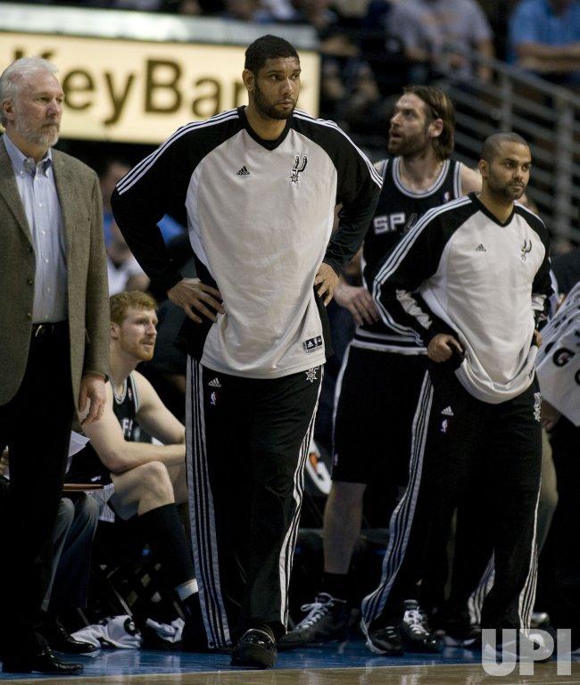 San Antonio Spurs vs Denver Nuggets in Denver, Colorado