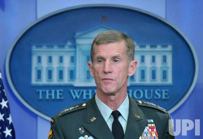 Gen. McChrystal speaks on Afghanistan in Washington