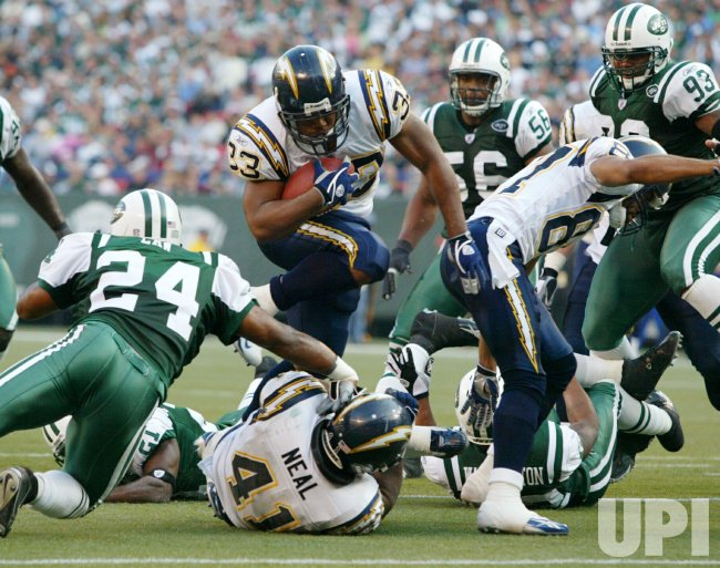 NEW YORK JETS VS SAN DIEGO CHARGERS