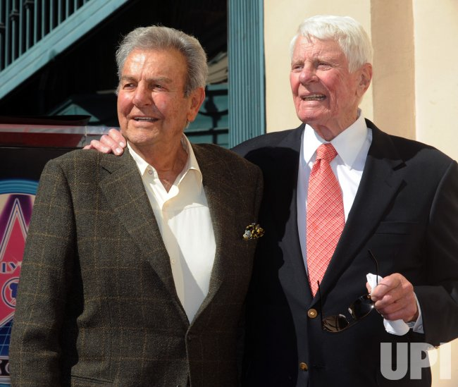 Peter Graves receives star on Hollywood Walk of Fame in Los Angeles