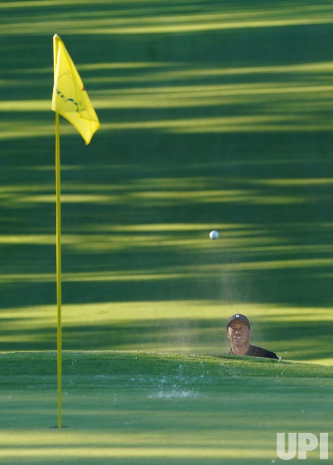 Second Round of the 2020 Masters Tournament in Augusta