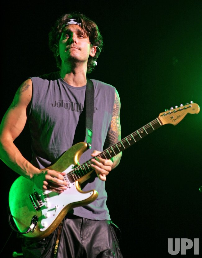 John Mayer performs in concert in West Palm Beach, Florida