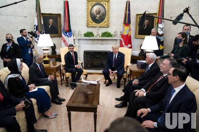 President Trump Meetsa With UAE in Wqashington