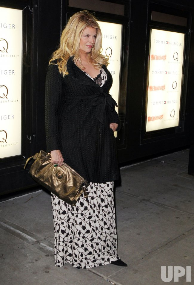 "Kirstie Alley arrives at the premiere of ""The Runaways"" in new York"