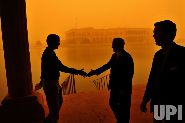 Secretary Gates visits Baghdad