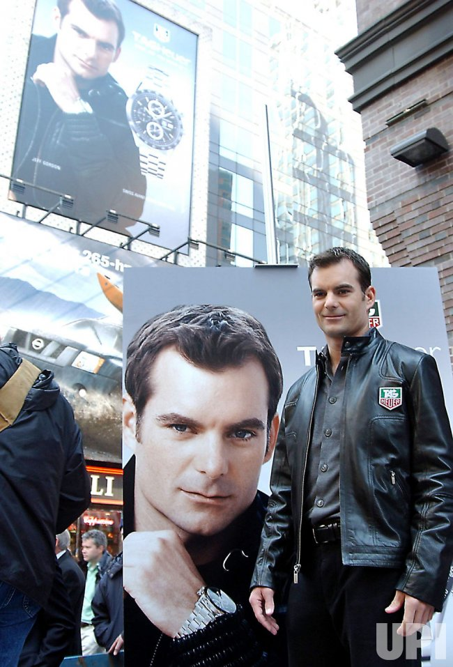 JEFF GORDON UNVEILS TAG HEUER BILLBOARD AD