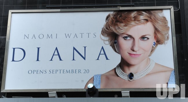 "The World Premiere of ""Diana"" in London"