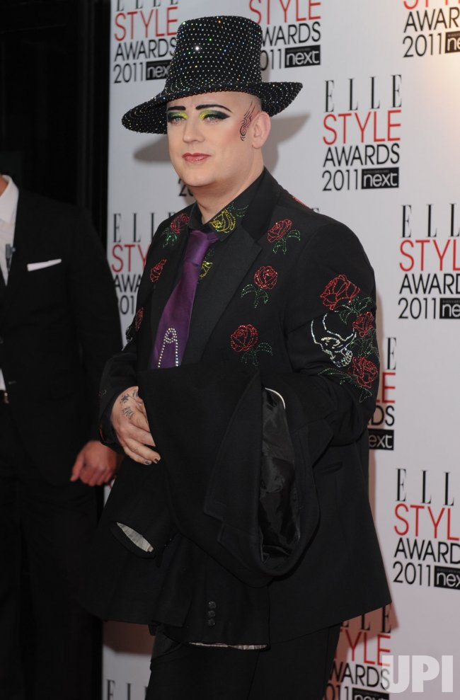 "Boy George attends ""Elle Style Awards"" in London"