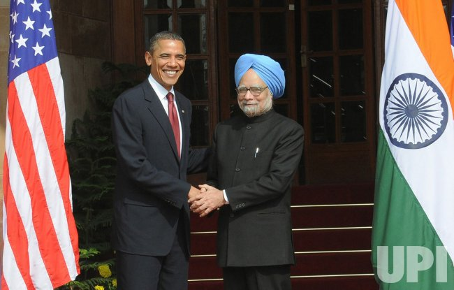 United States President Barack Obama Visits India