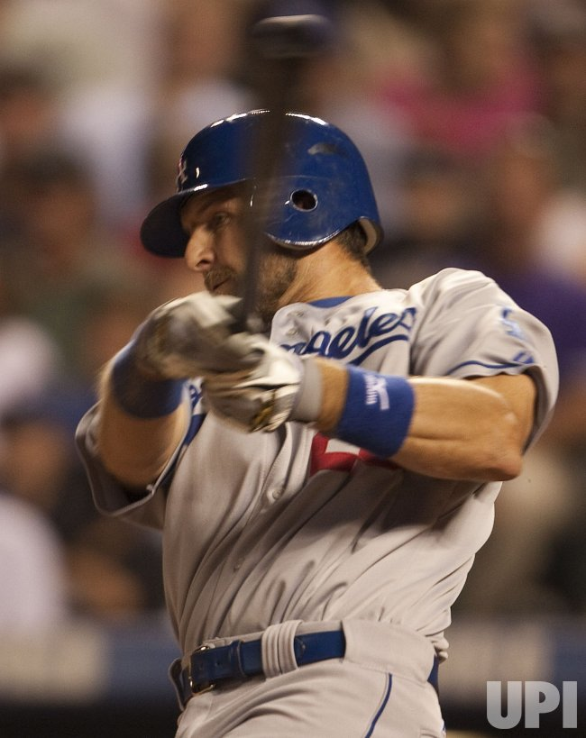 Dodgers Blake Hit a Grand Slam Home Run Against the Rockies in Denver
