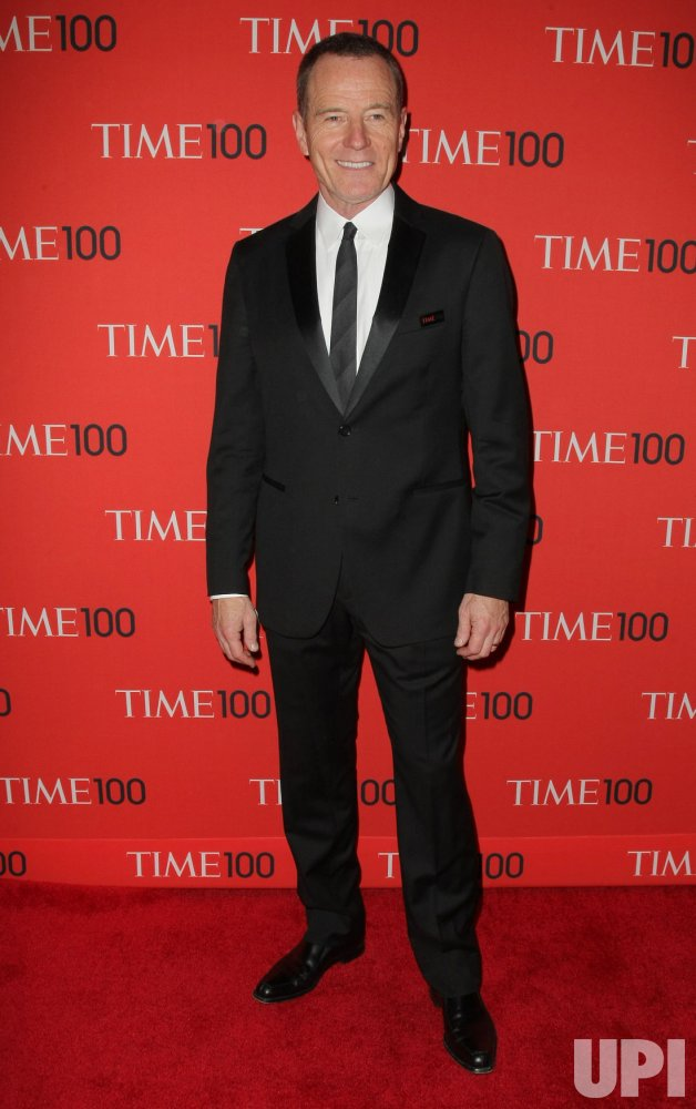 Bryan Cranston attends the TIME 100 Gala in New York