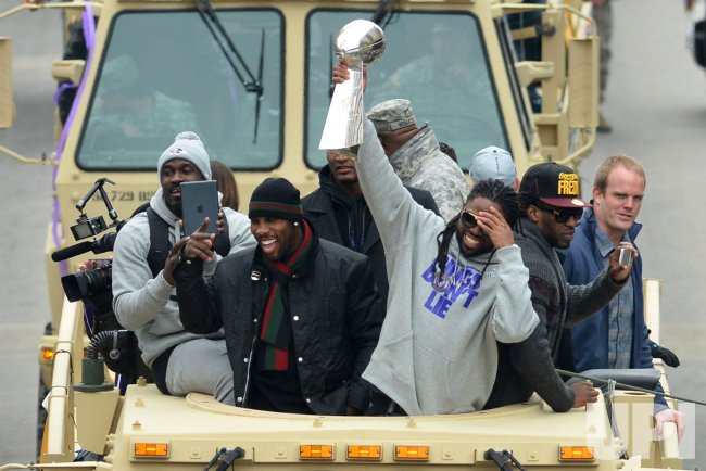 Baltimore Ravens Super Bowl XLVII Victory Parade in Baltimore
