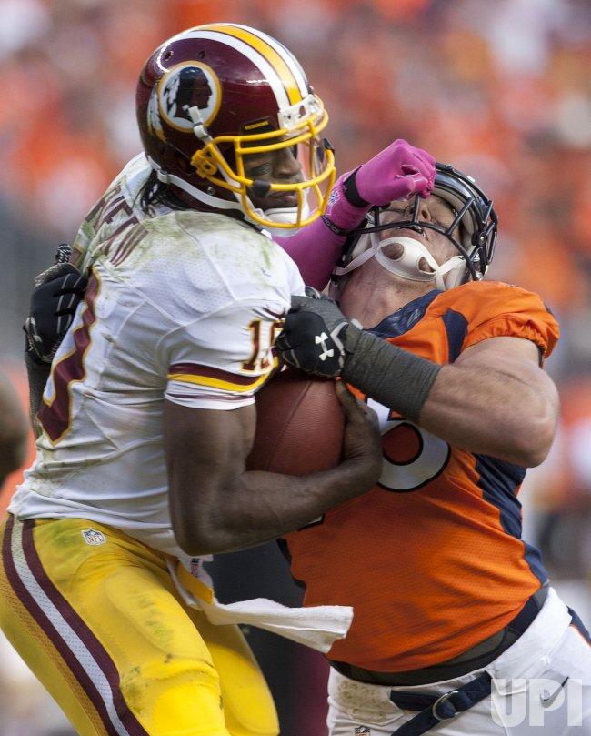 Washington Redskins Vs. Denver Broncos