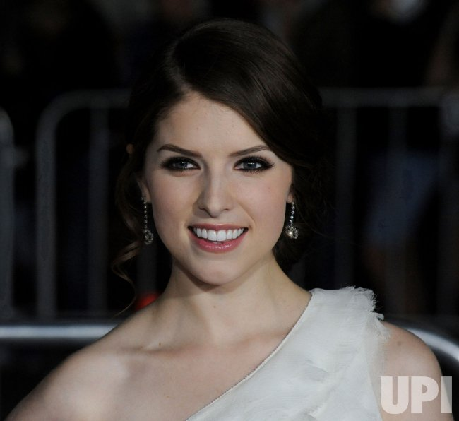"Anna Kendrick attends the ""Up in the Air"" premiere in Los Angeles"