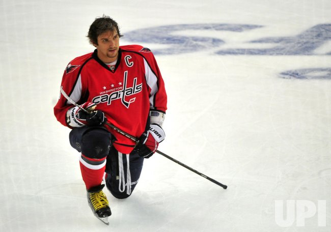 Capitals' Alex Ovechkin in Washington