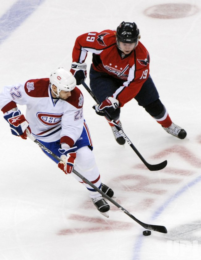 NHL Montreal Canadiens at Washington Capitals