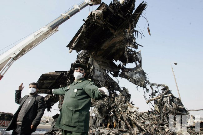 AIRPLANE CRASH IN TEHRAN