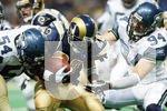 NFL FOOTBALL - SEATTLE SEAHAWKS VS ST. LOUIS RAMS