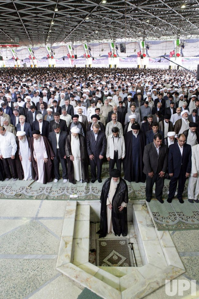 Iran's Supreme Leader Speaks at Friday Prayers in Tehran