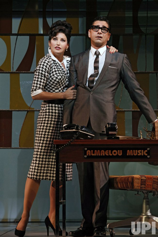 "John Stamos performs in Broadway production of ""Bye Bye Birdie"" in New York"