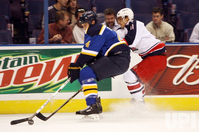 COLUMBUS BLUES JACKETS VS ST. LOUIS BLUES
