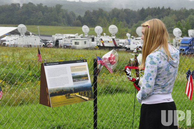 Tenth Anniversary of Flight 93 in Shanksville, Pennsylvania