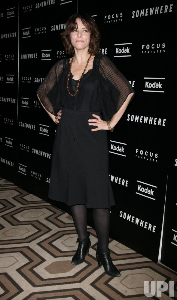 """Parker Posey arrives for the Special Screening of """"Somewhere"""" in New York"""